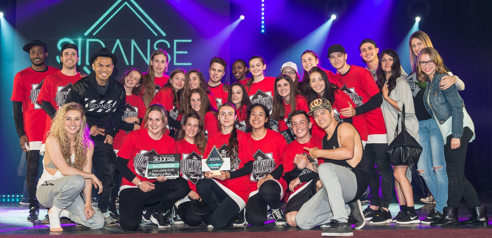 Dance competition located in Saguenay and Montreal